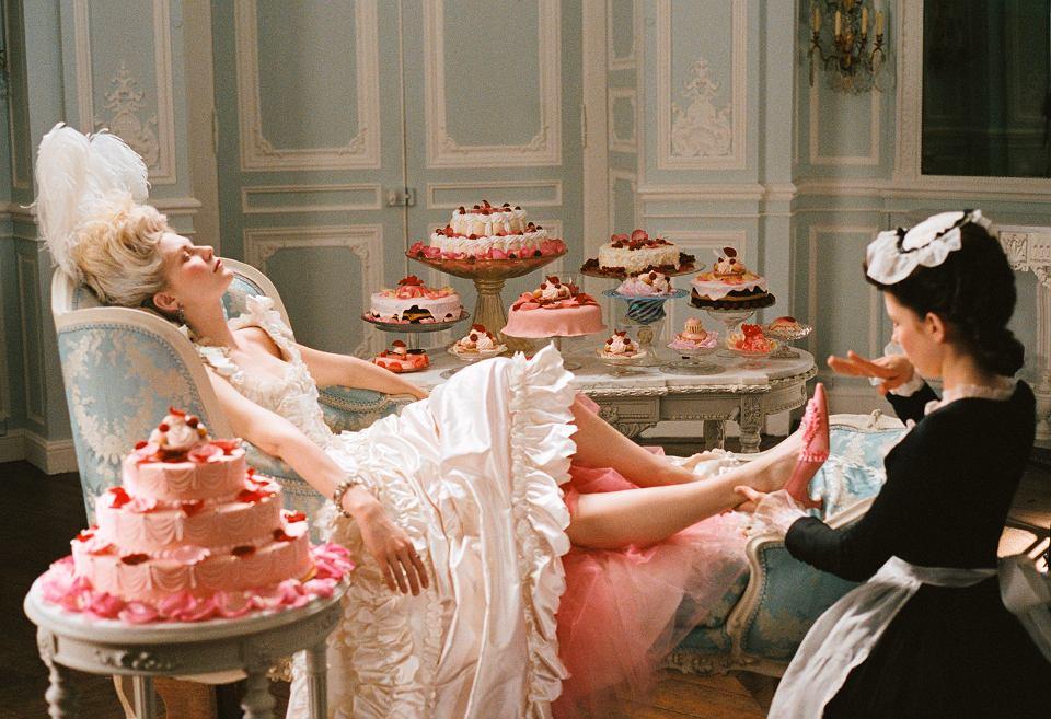 A scene from MArie Antoinette.