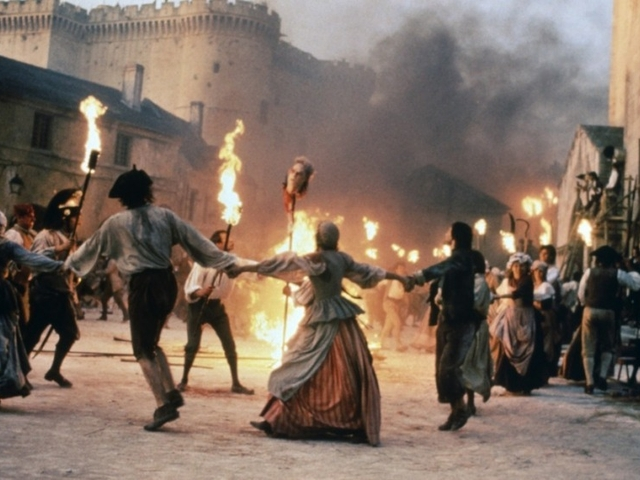 La Révolution française scene from the movie